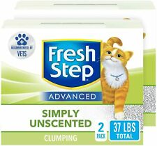 Fresh Step Advanced Clumping Cat Litter with Activated Charcoal & Natural