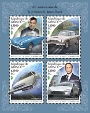 Guinea  2018  James Bond  cars  S201811
