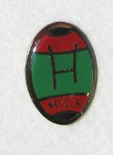D24 PIN BADGE RUGBY CLUB  SHAPE BALL  RARE FOOT   free ship on all add pins