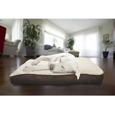Orthopedic Dog Bed with Removable Cover Medium Pets Overstuffed Washable Brown