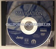 2002 2003 2004 2005 2006 Jeep Grand Cherokee Overland Limited Navigation DVD Map