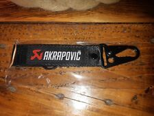 Triumph Ktm Akrapovic Race Exhaust Fitted Motorcycle Key Chain Ring With Clip