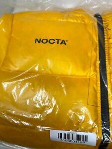 Nike x Drake Nocta Puffer Jacket Yellow Men's Size XXL 2XL DA3997-739 OVO Puff