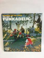 The Best of Funkadelic Standing on the Verge 2 X Vinyl LP Record