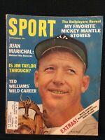 SPORT Magazine (Vintage) Sept 1964  Cover: Mickey Mantle, Jim Taylor   M1578