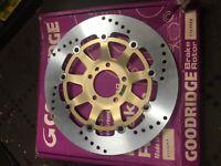 NEW GENUINE GOODRIDGE BRAKE DISC for SUZUKI STS006R