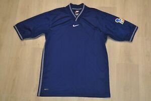 Vintage 90s Nike Italy short sleeve soccer jersey rare football shirt Italia