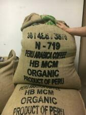 5 Lbs of Organic High Altitude Peru All Natural Green UnRoasted Raw Coffee Beans