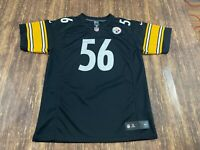 LaMarr Woodley Pittsburgh Steelers Nike Black NFL Football Jersey - Youth XL