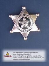 "Western Equestrian Tack Rose Gold ~Deputy Marshal~ Set Of 6 1 1/2"" Conchos"