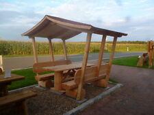 Holzmöbel. Lärchenmöbel. Pavillon. Gartenlaube. Überdachte Gartenmöbel....
