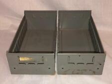 Vintage Equipto Steel Industrial Steampunk Storage Parts Bins Drawers Cabinets