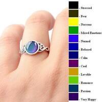 Magic Mood Ring Charming Temperaturregelung Farbwechsel Schmuck Vintage Heiß