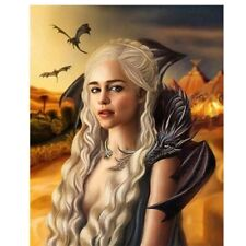 Round 5D Diamond Painting Dragon Mother Portrait Cross Stitch Kits Decor Gifts