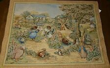 TAPESTRY** PETER RABBIT BEATRIX POTTER ~ Tapestry ~ English cottage garden