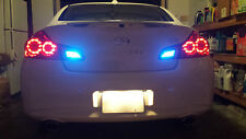 Blue LED Reverse Lights/Back Up For Scion iQ 2012-2015