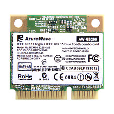 300Mbps Broadcom BCM43225HMB 802.11b/g/n Half  Mini PCI-E Bluetooth3.0 Wifi Card
