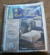 Vtg Quilt Kit American Heritage Collection Smithsonian Queen Victorian Garden