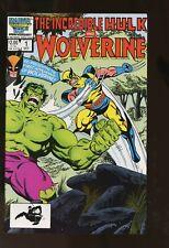 INCREDIBLE HULK AND WOLVERINE #1 NEAR MINT 9.4 1986 MARVEL COMICS