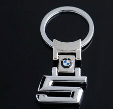 NEW BMW 5 SERIES STAINLESS STEEL KEY RING CHAIN KEYRING E39 E60 E61 F07 F11 F10
