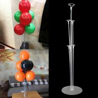 Balloon Column Stand Kit Wedding Birthday Decors Base Tube Display Baby Shower