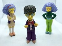 The Simpsons Action Figure Bundle - Artie Ziff - Patty & Selma - 2007 Fox