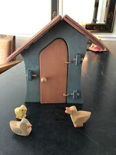 New listing Waldorf Wooden Chicken House with 3 Animals Euc