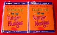 Louise Rennison Reads Knocked Out By My Nunga-Nungas 3-Tape UNABR.Audio Book