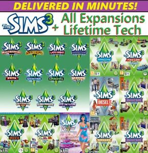 The Sims 3 Complete Collection - ALL EXPANSIONS✅DOWNLOAD Windows FAST DELIVERY