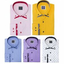 Fitted Floral Casual Singlepack Shirts & Tops for Men