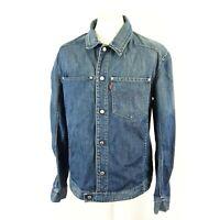 Vintage Levis Engineered Mens Blue Denim Trucker Jacket Size L 70100