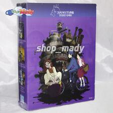 Paq. Box Set Studio Ghibli Vol. 1 en Blu-ray Región A, B, C, ESPAÑOL LATINO