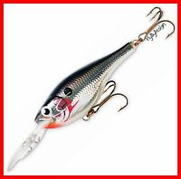 "NEW Rapala Suspending Rattling Silver 2"" Shad Rap Neutral Balance Lure (SRRS05S)"