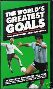 Video / THE WORLD'S GREATEST GOALS / 1966-1986 /