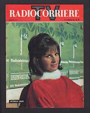 RADIOCORRIERE 4/1964 LUALDI MILVA SPENCER TRACY BRISSONI VIANI SAMP ANNA MOFFO