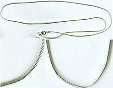 Quality USA Sterling 24 Inch (60cm) Snake Chain Ancient Roman Colonial Britannia