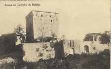 PIACENZA ROVINE CASTELLO DI BOBBIO 1910 CIRCA