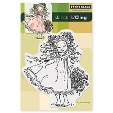 PENNY BLACK RUBBER STAMPS SLAPSTICK CLING FLOWER CHARM NEW cling STAMP