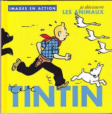 TINTIN  HERGE IMAGES EN ACTION N°3  LIVRE ENFANT