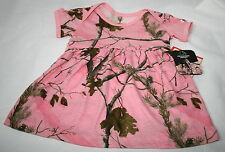 Realtree Pink Camo Baby Toddler Dress, Girls Camouflage