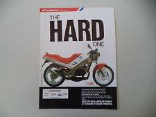 advertising Pubblicità 1989 MOTO HONDA NSR 125 F