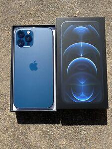 New-Apple iPhone 12 Pro Max 128GB - Pacific Blue (Unlocked)