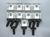 Einbausatz Clips Unterfahrschutz Set für BMW E39 5er 51718176503 51718218852