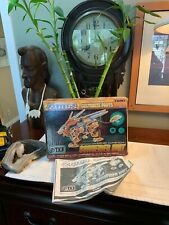 Box and Manual Only Zoids Customize Schneider Unit Liger Cp-17 Tomy Lion