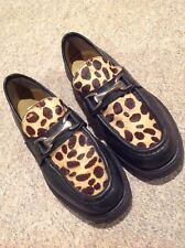 Kenneth Cole Reaction - Leopard Pony Hair Shoes - New - size 10