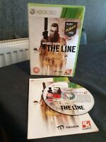 XBOX 360 GAME SPEC OPS THE LINE WITH MANUAL LOVELY CONDITION SHOOTER 18+