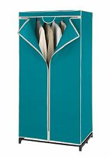 Kleiderschrank Breeze, Garderobe, Wäscheschrank, Petrol, 150x75 cm