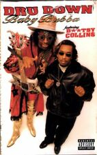 Dru Down Feat. Bootsy Collins - Baby Bubba Cassette Tape Single *New*
