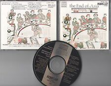 Riuichi Sakamoto & Danceries  CD THE END OF ASIA (c) 1983 JAPAN DENON