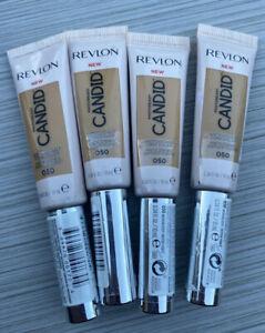 REVLON PHOTOREADY CANDID ANTIOXIDANT CONCEALER #050 Medium Deep Lot Of 4 New